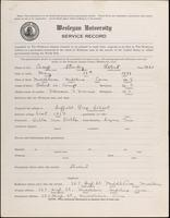 01.004.003 World War I Service Record for Stanley Robert Camp