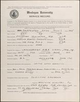 01.004.012 World War I Service Record for Otto Carpenter