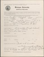 01.004.014 World War I Service Record for Manfred Amos Carter