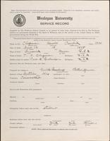 01.004.025 World War I Service Record for Harold Crawford Chapman