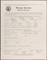01.004.024 World War I Service Record for Robert Mills Chapin
