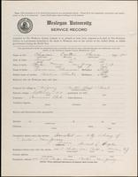 01.004.027 World War I Service Record for Cajetan Thomas Chianese