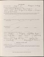 World War I Service Record for Eugene Shepard Clark, p. 3