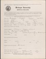 01.001.017 World War I service record for Russell Hobsen Anderson