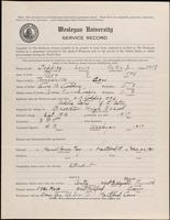 01.005.002 World War I Service Record for Lewis Bates Codding Jr.