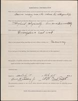 World War I Service Record for Lewis Bates Codding Jr., p. 4
