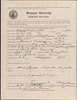 01.005.001 World War I Service Record for Harold Payson Cobb